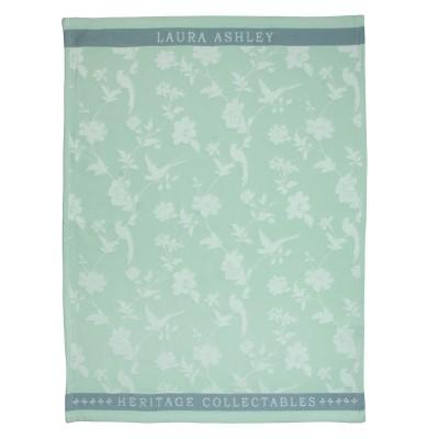 Полотенце Laura Ashley Mint Flowers 50x70 см