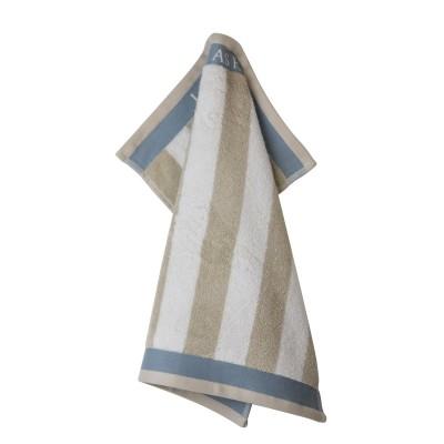 Полотенце Laura Ashley Cobblestone Stripe Vertical 50x50 см
