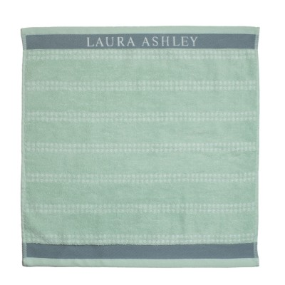Полотенце LAURA ASHLEY Mint Stripe Horisontal 50Х50