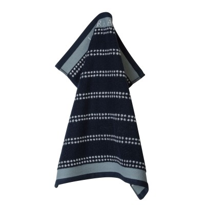 Полотенце Laura Ashley Midnight Stripe Horizontal 50x50 см