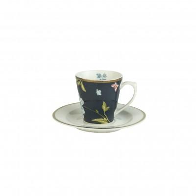 Кофейная пара эспрессо LAURA ASHLEY Midnight Uni, 90мл
