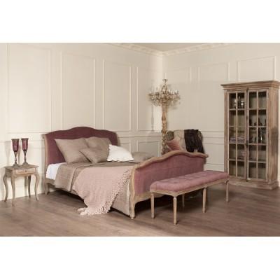 Кровать двуспальная розовый бархат La Truffe, 160*200