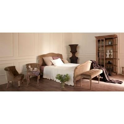 Кровать двуспальная оливковый бархат La Truffe 160*200
