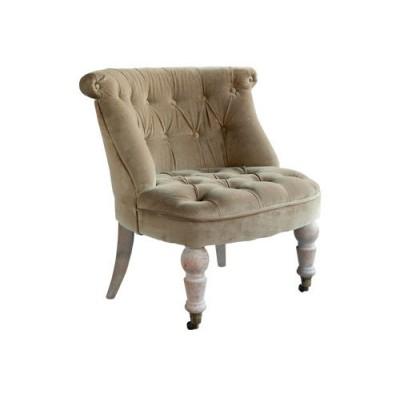 """Кресло """"Жозефина""""оливковый бархат La Truffe"""