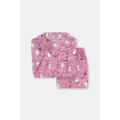 Детская пижама Moomins Linen Sprig Pink 11-12 лет