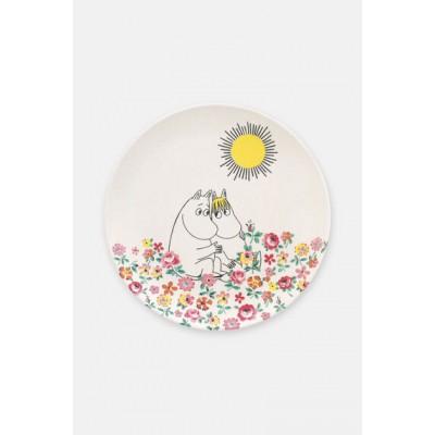 Детская тарелка Moomins Meadow Cream