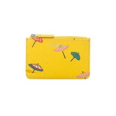Маленький кошелек для карточек и монет Sunny Parasols Yellow