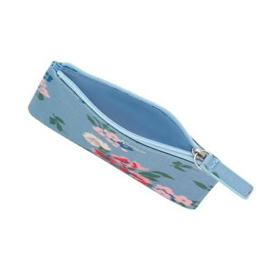 Маленький кошелек для карточек и монет Summer Floral Light Blue