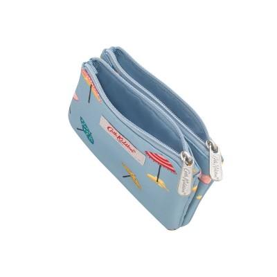 Кошелек с двойным карманом Sunny Parasols Light Blue