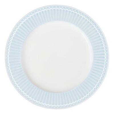 Тарелка Alice pale blue