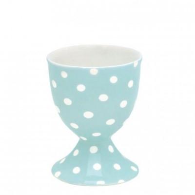 Подставка для яйцa Spot pale blue, высота 6,5 см
