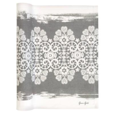 Наволочка для подушки Lace warm grey 40x60
