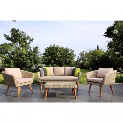 Комплект садовой мебели Mira lounge set