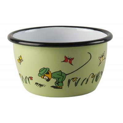 Pippi Пиала эмалированная зеленая 300 мл Mr Nilsson