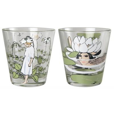 ELSA BESKOW Набор стаканов 270 мл Грушанка и Водяная Лилия