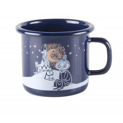 Moomin Кружка эмалированная Winter Romance, 250 мл