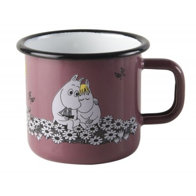 Moomin Кружка эмалированная Moomin Retro, Любовь, 370 мл