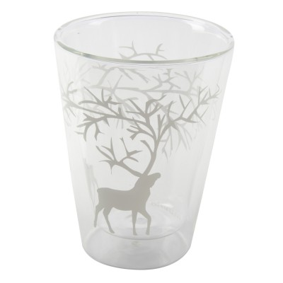 Reindeer Набор стаканов из 2х штук, с двойными стенками, Северный олень