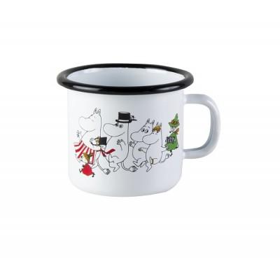Moomin Кружка эмалированная, Moomin Colors, Муми-дол, 250 мл