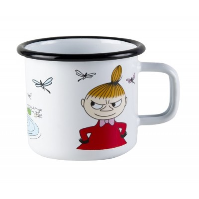 Moomin Кружка эмалированная, Moomin Colors, Малышка Мю, 370 мл