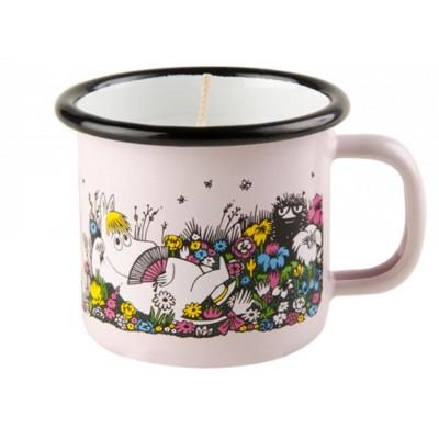 Moomin Свеча в эмалированой кружке, Shared Moment, 150 мл