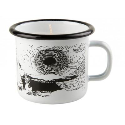 Moomin Свеча в эмалированой кружке, Sunset, 250 мл
