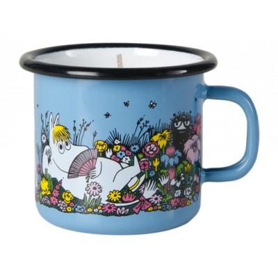 Moomin Свеча в эмалированной кружке, Shared Moment, 250 мл