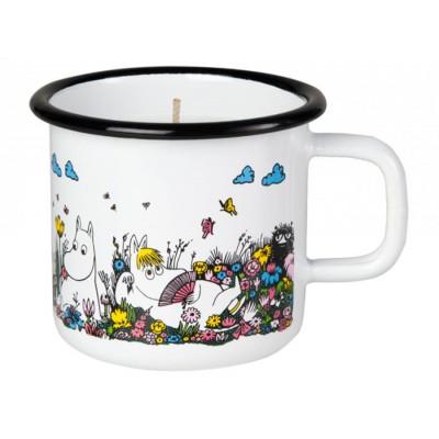 Moomin Свеча в эмалированной кружке, Shared Moment, 370мл