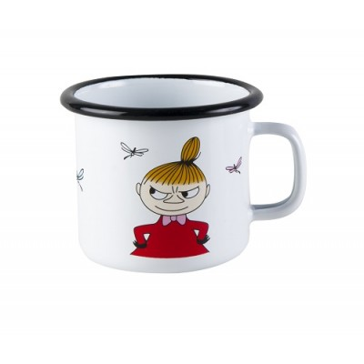 Moomin Кружка эмалированная, Moomin Colors, Малышка Мю, 250 мл