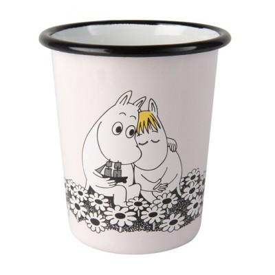 Moomin Стакан эмалированный, Moomin Retro, Любовь
