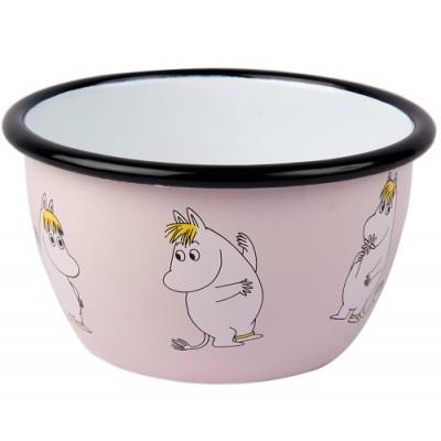 Moomin Пиала эмалированная Moomin Retro, Фрекен Снорк, 600 мл